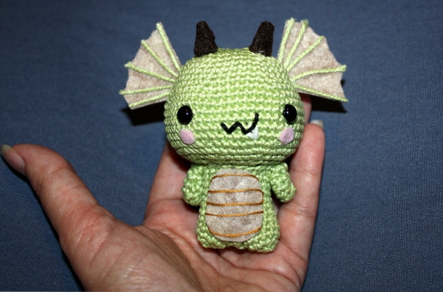 Mini-dragon for my daughter.