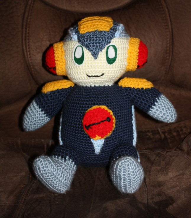 Megaman (Rockman in Japanese) for my son when he came home from boot camp.